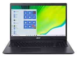 "Acer Aspire 3 Intel Core i5-1035G1 15.6"" FHD Display Thin and Light Laptop (8GB Ram/1TB HDD/Windows 10 Home/Nvidia MX 330 Graphics), Charcoal Black/1.9kg), A315-57G"