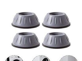 Anti Vibration Rubber Pad Stand for Washing Machine, Set of 4