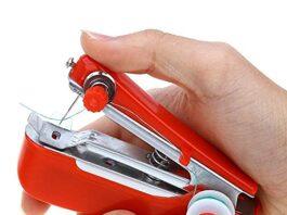 "Drashti Enterprise Electric Hand Sewing Machine for Home Use | Mini Silai Machine""."